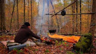 Fall Camping in tнe Woods