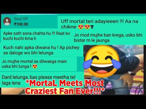 """MortaLBhai, Aapke Saath Raat Ko Sona Chahta Hu"" 😂 | When MortaL Meets His Most Tharki Fan Ever!"