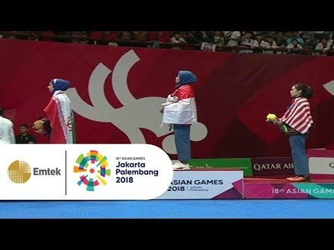 MENGGETARKAN JIWA! Lagu Indonesia Raya Bergema Setelah Defia Pastikan Medali Emas