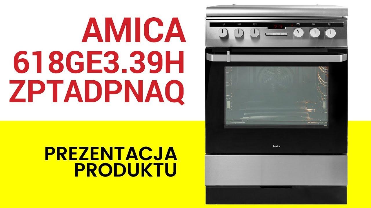 Kuchnia Amica 618ge339hzptadpnaqxx