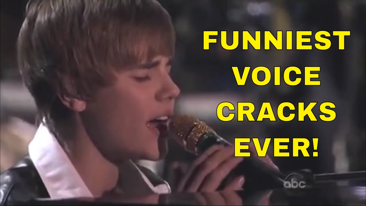 15 Funniest VOICE CRACKS Ever! - YouTube