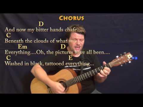 Black (Pearl Jam) Guitar Cover Lesson with Chords/Lyrics