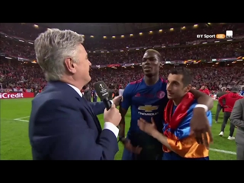Paul Pogba: We won the Europa League for Manchester victims