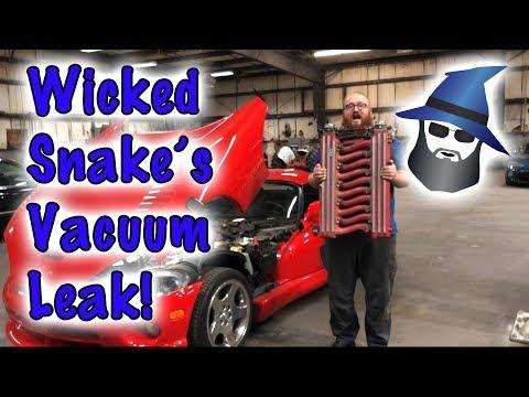CAR WIZARD Fixes Leaking Intake Gaskets on Gen 2 Viper