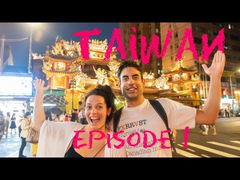 Moving to Taiwan! Our first look at Taipei (Ep1)