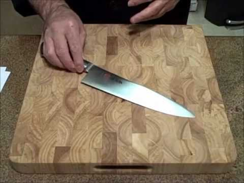 Knife Sharpening: Stropping Your Kitchen Knives - YouTube