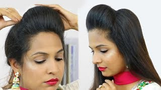 NEW High Puff Hairstyles - Easy Hairstyles for School, College, Work| Shruti Arjun Anand