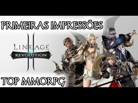Lineage II Revolution (Primeiras impressões / Gameplay Android)