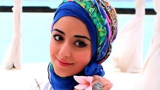 Turban Hijab Tutorial For Hot Weather Or On Holiday Thumbnail