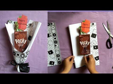 Buket Snack Mudah Dengan Kertas Kado | DIY Buket Snack