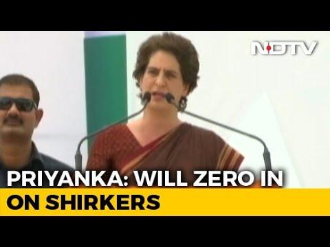 In Rae Bareli, Priyanka Gandhi Hauls Up Party Workers For Uttar Pradesh Loss