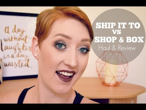 Ship It To VS Shop & Box | Haul & Review | US to AUS