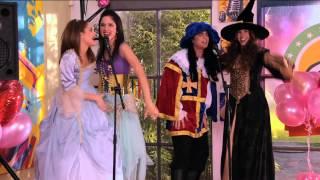 """Seriál Violetta na Disney Channel - všichni zpívají """"Juntos somos mas"""" (Epizoda 47)"""