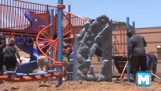 Playground Build at Briarwood Elementary School