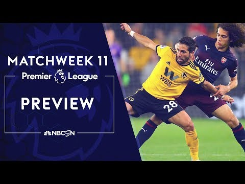 Premier League Preview: Liverpool, Manchester City Roll Into Matchweek 11   NBC Sports