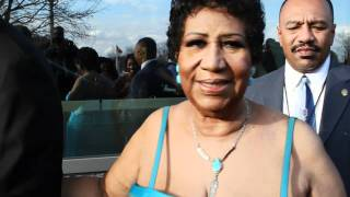 Aretha Franklin at the 2012 Trumpet Awards-Versace Dress