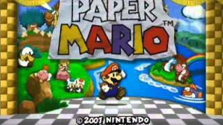 Paper mario clouds over flower fields cloudy clipzui paper mario music clouds over flower fields extended mightylinksfo