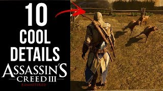10 COOL Details in Assassin