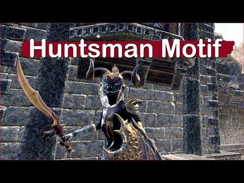 Huntsman Motif - Elder Scrolls Online |