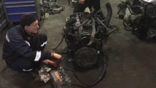 Запуск мотора Kia bongo 3 c механическим насосом