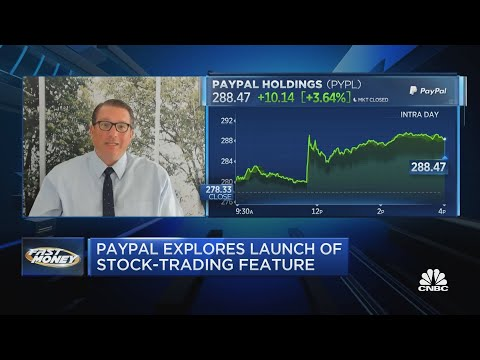 PayPal considers stock trading platform for customers