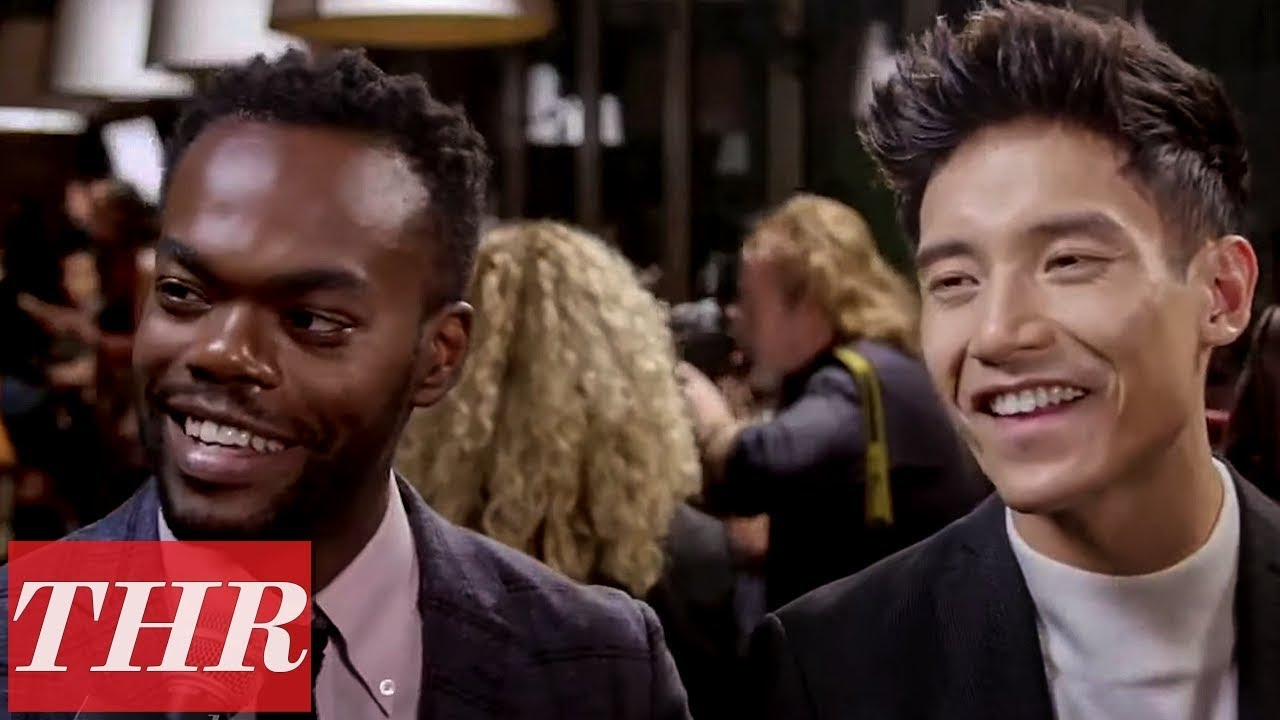 'The Good Place' Stars William Jackson Harper & Manny Jacinto | Emmy Noms Night