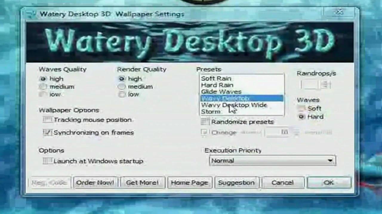 watery desktop 3d push entertainment full hd 1080p