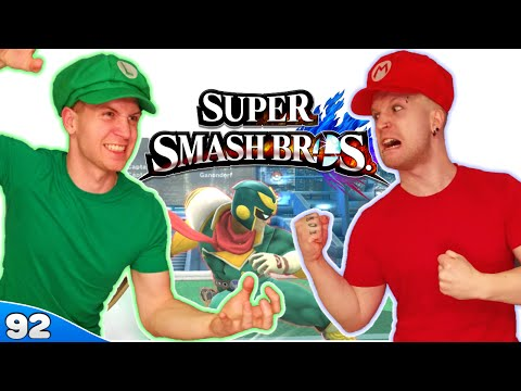 Bros Play Super Smash Bros 4 ✪ GROWN MEN YELLING AT GAMES!! ● Multiplayer #92 - 동영상