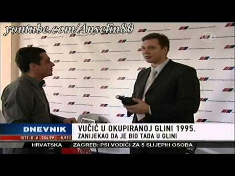 Govor Aleksandra Vučića u Glini 1995
