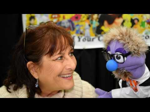 That time voice actress Katie Leigh talked to a puppet at Stan Lee's Los Angeles Comic Con 2016.