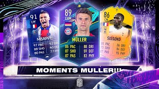 MOMENTS MULLER, NEW MAN OF THE MATCH & INSANE RTTF UPGRADES! - FIFA 21 Ultimate Team