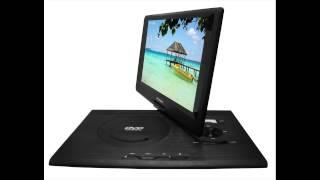 Sylvania SDVD1332 13.3-Inch Swivel Screen Portable DVD Player with USB/SD Card Reader