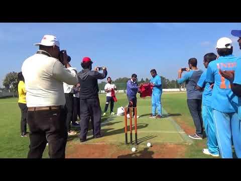 India National Blind Cricket Team Vs Bangalore Cricket Guild Team - Innings 1