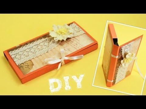 видео: Подарок для Учителя или Врача. Шоколадница Своими Руками / diy ✿ natalidoma