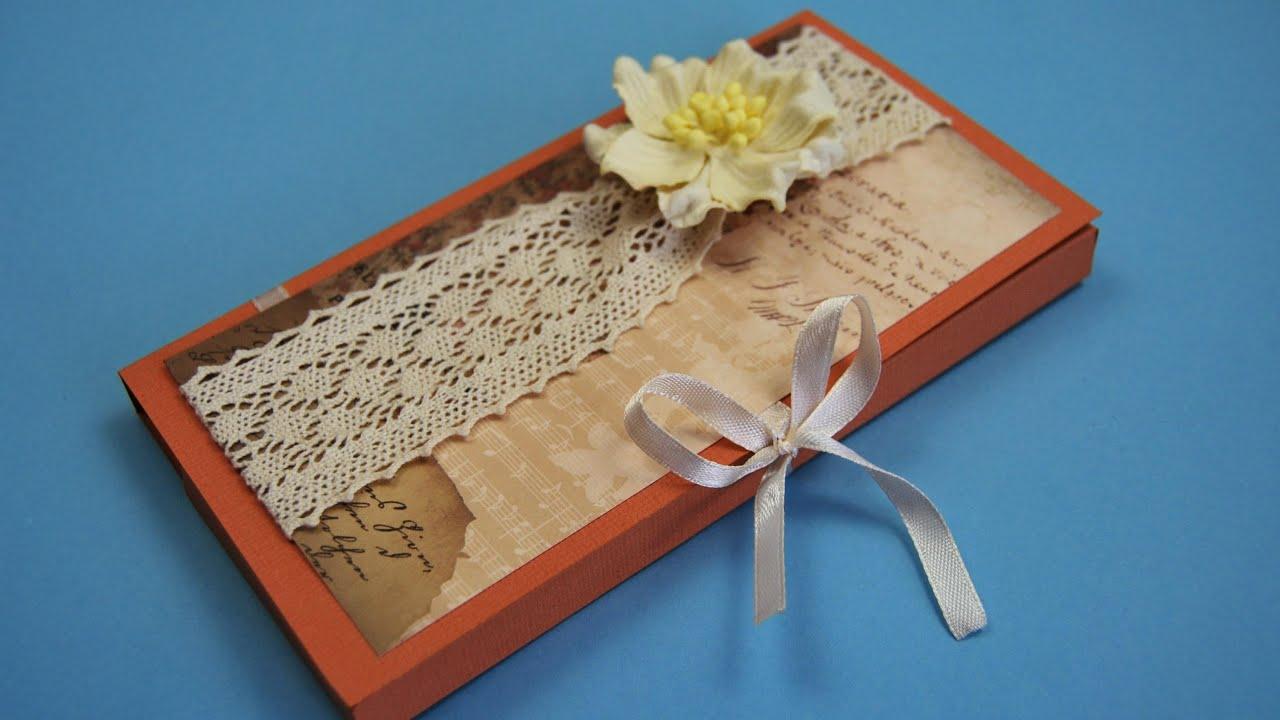 Подарок для Учителя или Врача. Шоколадница Своими Руками / DIY ✿ NataliDoma