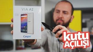 20 + 8 MP Ön Kameralı Casper VIA A2 Kutusundan çıkıyor - Şaka değil GERÇEK!