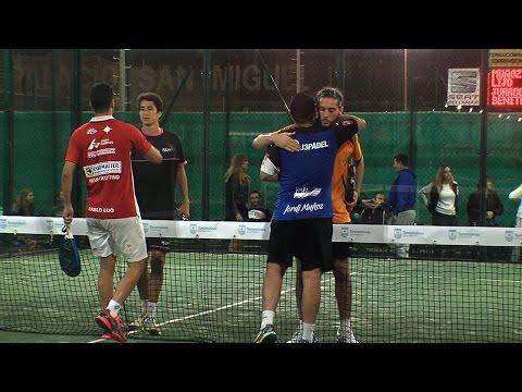 Vamos Pádel. Final Jordi Muñoz y Pablo Lijó contra Fran Jurado y Miguel Benítez