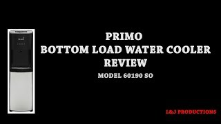 PRIMO BOTTOM LOAD WATER COOLER REVIEW