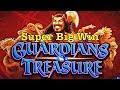 GUARDIANS TREASURE - Fantastic BIG Win BONUS - IGT Slot Machine