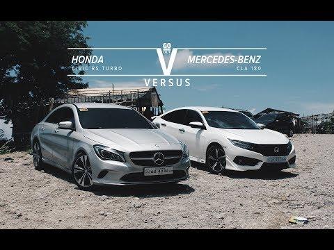 2017 Honda Civic RS Turbo Versus 2017 Mercedes-Benz CLA 180: Go Flat Out Versus