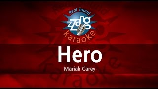 Mariah Carey-Hero (-5key) (MR) (Karaoke Version) [ZZang KARAOKE]