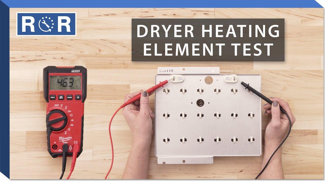 speed queen 61928 continuity test dryer heating element  [ 1280 x 720 Pixel ]