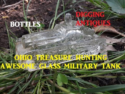Ohio Treasure Hunting Glass Military Toy Bottles & More Archaeology Discovery Channel PBS