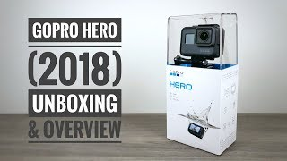 Video New GoPro Hero (2018) Unboxing and Overview download MP3, 3GP, MP4, WEBM, AVI, FLV Oktober 2018