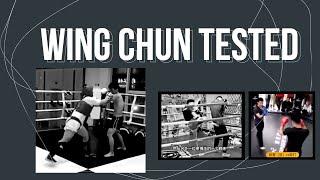 Three Wing Chun Practitioners Challenge Kickboxers