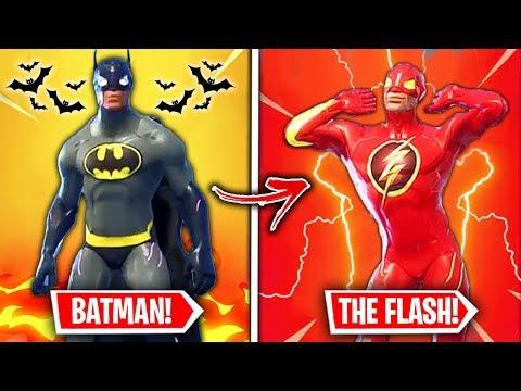 Top 10 MOST POPULAR Fortnite Superhero Skins WE NEED!