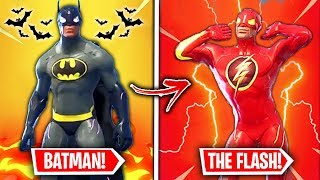 Top 10 MOST POPULAR Fortnite Superhero Skins WE NEED!