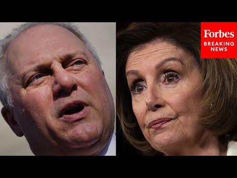 Scalise Accuses Pelosi Of Attempting To Create 'Kangaroo Court' After Jim Jordan, Jim Bank