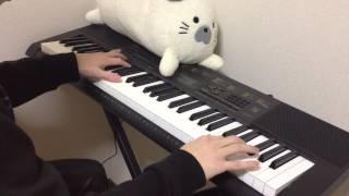 『電子キーボード』 ひぐらしのなく頃に「YOU」弾いてみました