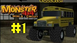 Monster 4X4 World Circuit Ep. 1 - GET SCHOOLED